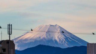 富士山の盗み撮り
